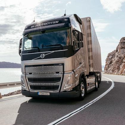 Volvo Rullar Ut Fyra Nya Lastbilar